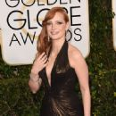 Jessica Chastain At The 72nd Golden Globe Awards (2015)
