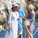 Catherine Zeta Jones on holiday in France - 454 x 678