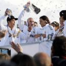 Celebration at Cibeles Square after La Liga 2012 Title Success