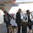 Nikki Reed Ian Somerhalder At Lax Airport