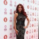 Amy Childs attends the Tesco Mum of the Year awards at The Savoy Hotel