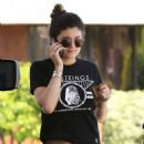 Kylie Jenner In Tight Laggings At A Gas Station In Calabasas