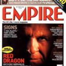 Anthony Hopkins - Empire Magazine Cover [United Kingdom] (October 2002)