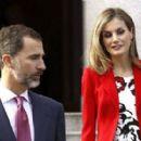 Princesa Letizia de Asturias and Felipe de Borbon attends the CSIC 75th Anniversary (November 24, 2014)
