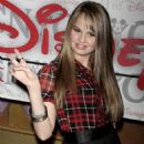 Debby Ryan - 'The Suite Life On Deck' Cast Appears At World Of Disney In NYC, 2009-03-06