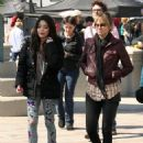 Miranda Cosgrove - Filming A Music Video, 2010-03-04