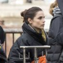 Charlotte Riley – Filming 'Press' set in London - 454 x 578