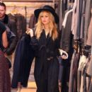 Rachel Zoe: at the All Saints Store in West Hollywood