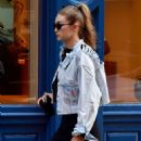 Gigi Hadid in Tights – Out in New York City