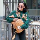 Karrueche Tran In Jeans Stroll Out In Los Angeles