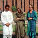 Imran Khan and Jemima Khan - 454 x 564