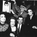 Ann Miller,Ethel Merman,Lee Roy Reams,Carol Channing and Carol Cook At Sardis  To Honor Lee Roy Reams Actor