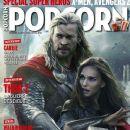 Chris Hemsworth, Natalie Portman - Popcorn Magazine Cover [France] (October 2013)