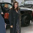 Rachel Weisz – Arriving at CBS studios in New York City - 454 x 683