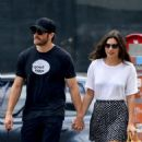 Jake Gyllenhaal out with his new girlfriend Alyssa Miller in New York City (July 15)
