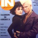 Billy Idol, Sherilyn Fenn - In Fashion Magazine Cover [United States] (January 1991)