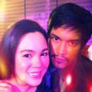 Luis Alandy and Claudine Barretto