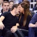 LIAM PAYNE & SOPHIA SMITH AT NBA GAME (January 16) - 454 x 351