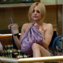 Brittany Murphy - Filming 'The Dead Girl'