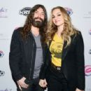 Drea de Matteo and Michael Devin  attend the 2017 Rhonda's Kiss Benefit Concert at Hollywood Palladium on December 8, 2017 in Los Angeles, California - 454 x 300