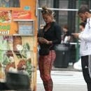Nina Agdal Street Style – Out in NYC 09/28/2016 - 454 x 564