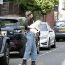 Daisy Lowe in Jeans – Out in London - 454 x 532
