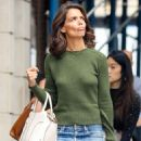 Katie Holmes – Shopping candids at Zac Posen in New York City - 454 x 681