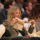 Cameron Diaz Courtside - Lakers vs Cavs blowout, January 11, 2011