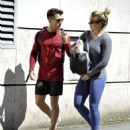 Gemma Atkinson and Gorka – Leave a gym in Manchester - 454 x 537