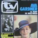 Ava Gardner - TV Jour Magazine Cover [Belgium] (18 May 1983)