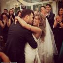 Scooter Braun & Yael Cohen on their Wedding Day Sunday July 6, 2014