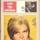Julie Christie - Amis Du Film Et De La Télévision Magazine Cover [France] (July 1966)