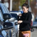 Rachel Bilson out for lunch in LA
