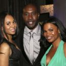 Morris Chestnut-February 22, 2014-45th NAACP Image Awards Presented By TV One - Backstage And Audience - 454 x 303