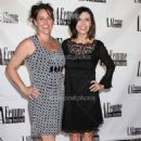 Christine Fry and Finola Hughes at Le Femme Film Festival