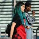 Kylie Jenner Los Angeles Mission and Anne Douglas Centers Thanksgiving Meal For Homeless
