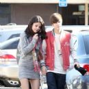 Justin Bieber & Selena Gomez's Weekend Sushi/Movie Date