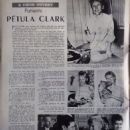 Petula Clark - Festival Magazine Pictorial [France] (1 August 1961)