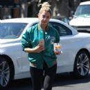 Ashley Benson in Tights – at Alfred's Coffee in West Hollywood 9/29/2016 - 454 x 681