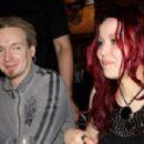 "Mikko ""Linde"" Lindstrom and Toni-Marie Iommi"