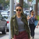 Crystal Reed Shops in Beverly Hills, CA 3/3/2016 - 454 x 610