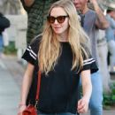 Amanda Seyfried in Ripped Jeans out in West Hollywood
