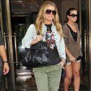 Jessica Simpson Leaving The Ritz-Carlton Hotel In NYC 6/23/10