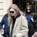 Gigi Hadid – Leaving the Royal Monceau Hotel in Paris