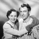 Teresa Wright and Gary Cooper