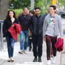 Emma Roberts and Hayden Christensen Films a Scene in Toronto