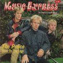 Sting, Stuart Copeland - Music Express Magazine Cover [Canada] (July 1983)