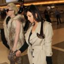 Kim Kardashian: left her house in Los Angeles to head to the airport