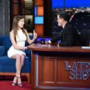 Anna Kendrick – Visits The Late Show With Stephen Colbert in NY - 454 x 303