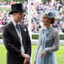 The Duke And Duchess Of Cambridge  attended the first day of Royal Ascot Day 2019 - 431 x 600